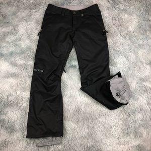 BURTON Dryride Black Snowboarding Ski Pants Small